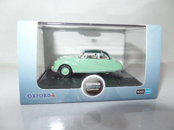 Oxford 76ATL001 ATL001 1/76 OO Scale Austin Atlantic Saloon Ash Green